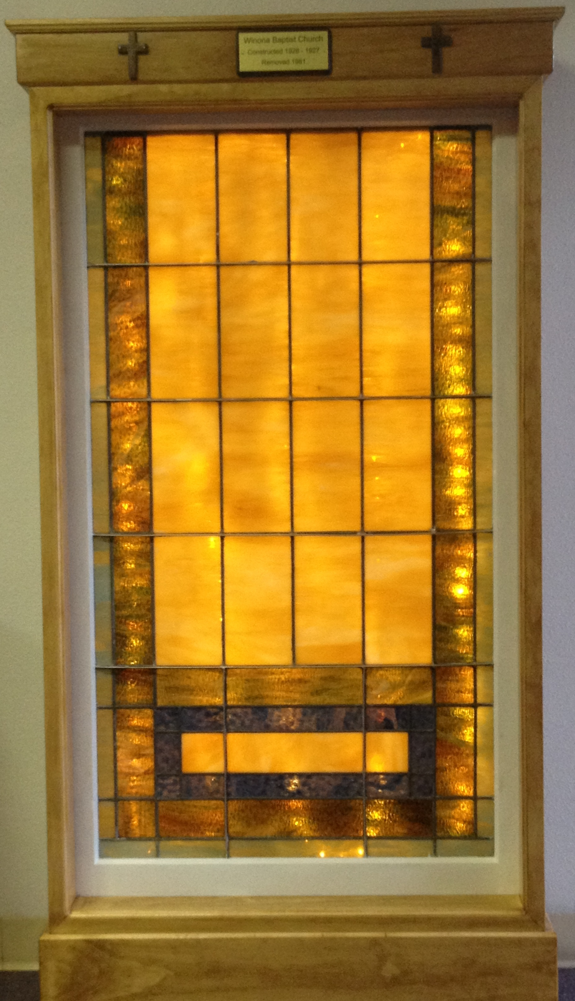 Church Window FBCW 1927